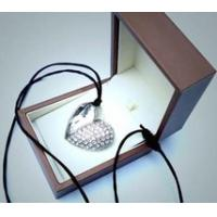 Wholesale Portable Pendant Metal & Crystal Golden Jewelry Usb Flash Drive Disk for PC from china suppliers