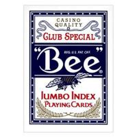 Quality XF US imports of BEE Jumbo index two characters |classic red and blue poker bee dorsal striatum|Contact lens|magic dice for sale