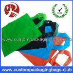 Wholesale Soft Flex loop Die Cut Handle Plastic Bags / custom printed carrier bags OEM from china suppliers
