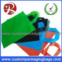 Wholesale Soft Flex loop Die Cut Handle Plastic Bags / custom printed carrier bags OEM from china suppliers
