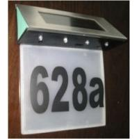 Wholesale 4 led Solar Door/House/Doorplate Number Lights from china suppliers