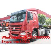 Wholesale hot sale SINOTRUK HOWO 4X2 290HP Tractor Truck, HOWO 290hp tractor head truck for trailer from china suppliers