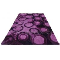 Wholesale Contemporary Area Purple, Grey, Beige 3D Polyester Shaggy Rug, Modern Romantic Shaggy Carpet from china suppliers