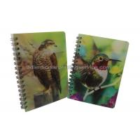 Wholesale Custom A4/A5/A6 3D Lenticular Notebook For Children CMYK Offset Printing from china suppliers