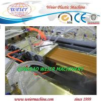 Wholesale Co - Extrusion Type Wood Plastic Composite Production Line For WPC Decking from china suppliers