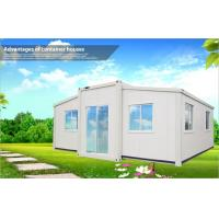Wholesale White Portable Foldable Container Homes for Villa , Houses Made From Shipping Containers from china suppliers