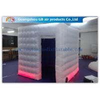 Wholesale Colored Customized Inflatable Led Photo Booth Enclosure Rental With Internal Blower from china suppliers