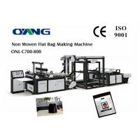 Wholesale Full Automatic Nonwoven Bag Making Machine / Computer Control Bag Forming Machine from china suppliers