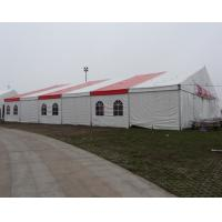 Wholesale Large commercial party tent wth white / red Double PVC Coated Rooftop from china suppliers