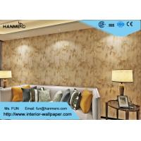 Wholesale 0.53*10m Beige Color Non-woven  Modern Removable Wallpaper For The Home from china suppliers