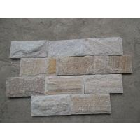 Wholesale Golden Line Quartzite Mushroom Stones Pillar/Column Wall Stone Landscaping Stones from china suppliers
