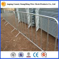 Wholesale galvanized/coated Portable Fencing Rental for Event Sites event fence barricade from china suppliers