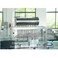 Wholesale Piston Type Fully Automatic Jam Filling And Capping Machine 220V / 50HZ from china suppliers