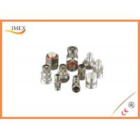 Buy cheap RF DIN male female feeder connector 7/16 DIN solder type male plug feeder cable coaxial rf connector from wholesalers