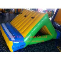 Buy cheap Business Rental 0.9mm PVC Inflatable Water Sports 3 X 2m Water Slide With CE Pump from wholesalers