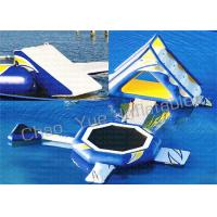 Wholesale Trampoline Combo Commercial Inflatable Water Park Air Hot Welded With CE Pump from china suppliers