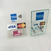 Wholesale Acrylic Sign Holder for Bank With Bank Logo from china suppliers