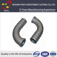 Wholesale Lost Wax Investment Casting Small Parts , Cast Pipe Fittings Low Tolerance from china suppliers