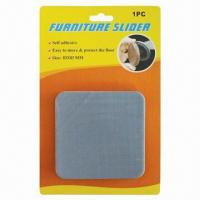 Buy cheap Adhesive Square Big-sized Teflon Furniture Slider, Chair Glides from wholesalers