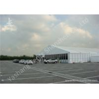 Wholesale Hard ABS and Transparent Glass Wall Outdoor Aluminum Profile Car Exhibition Tent from china suppliers
