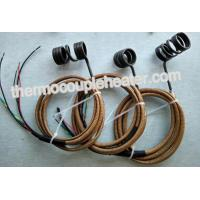 Wholesale Customized Electric Coil Heaters With Type J Thermocouple Fiberglass Protected Leads from china suppliers
