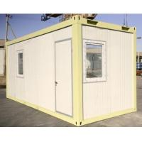 Wholesale temporary steel building economic flat pack container house for refugee from china suppliers