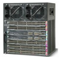Wholesale Manageable Cisco Chassis Switch , Cat4500 E Series 6 Slot Chassis WS-C4507R+E= from china suppliers