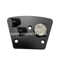 Buy cheap 2 PCD Traps With 1 Metal Bond Support Pad For Floor Preparation Mastic Glue Removal Tools from wholesalers