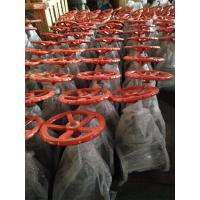 Wholesale API 6D, 150LB KITZ Brand Carbon Steel  Flanged Globe Valve With Orange Handwheel from china suppliers