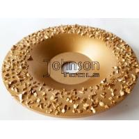 Buy cheap Tungsten Carbide Buffing Grinding discs for roughing Rubber and Fabric. from wholesalers