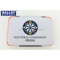 Wholesale Colorful Iron Case Office Ink Stamp Pads For Election Campaign from china suppliers
