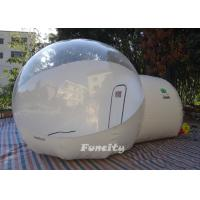 Wholesale Green 3m PVC Tarpaulin Inflatable Lawn Bubble Tent Half Color For Exhibitions from china suppliers
