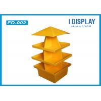 Wholesale Exhibition Table Tree Cardboard Pallet Trays , Innovative Pallet Display Stands from china suppliers