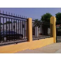 Wholesale Classic decorative  wrought iron fence from china suppliers