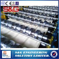 Wholesale Galvanized Steel Floor Deck Roll Forming Machine Driving Motor 22 KW from china suppliers