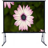 """Wholesale 100"""" - 300""""  Big collapsible projection screen with aluminum housing from china suppliers"""