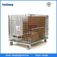 Buy cheap Industry folding warehouse galvanized wire mesh cage from wholesalers