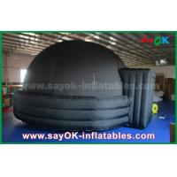 Wholesale Customized 5m / 6m Dia Inflatable Projection Dome Tent For Kids / Adults from china suppliers