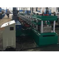 Wholesale 2 Waves Guard Rail Roll Forming Machine 37KW + 11KW Gear Box Hydraulic Decoiler from china suppliers