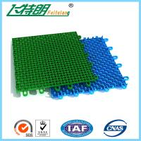 Wholesale Colored Outdoor PP Suspended Interlocking Rubber Floor Tiles Modular Hockey Flooring from china suppliers