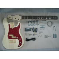 Wholesale Four String HB Bass DIY Electric Guitar Kits With Pearl Loid Pickguard AG-BS2 from china suppliers
