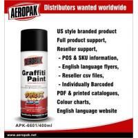 Wholesale Aeropak Magnetic Auto Graffiti Spray Paints Cans , Fast Drying And High Spray Rate from china suppliers