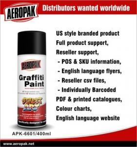 Wholesale Aeropak Flexible Custom Color Automotive Graffiti Art Spray Paint For Metal from china suppliers