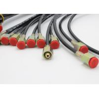 Wholesale Red Jacket Flexible High Pressure Test Hose With Wires / Fibers Reinforcement from china suppliers
