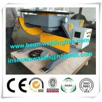 Quality Adjustable Rotary Welding Positioners , Lift Horizontal Revolving Weld Positioner for sale