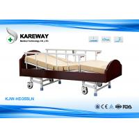 Wholesale 3 Functions Homecare Hospital Beds Nursing Bed With Solid Wood , Metal Material from china suppliers