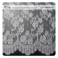 Wholesale White Flower Sewing Eyelash Lace Trim For Bridal Wedding Gown from china suppliers