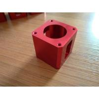 Wholesale High-precision Red Color Anodized CNC Machining Aluminum Industrial Parts from china suppliers