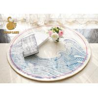Wholesale Swan Lake Eco Friendly Round Entrance Rugs Non Slip 100% Polyester Material from china suppliers