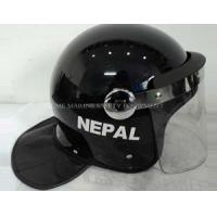 Wholesale riot helmet with L shape visor and round visor anchor from china suppliers